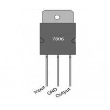 Voltage regulator 7806