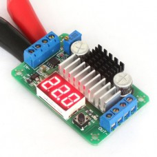 Boost regulator with display