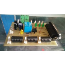 Three axis breakout board for CNC machine