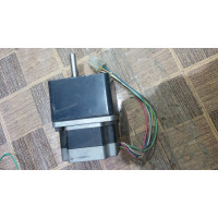 NEMA 23 stepper motor with gear box