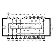 Logic IC 74373