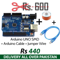 Arduino UNO SMD with Cable