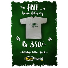 Independence Day White T-shirt (Shaheen)